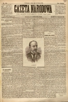Gazeta Narodowa. 1895, nr164