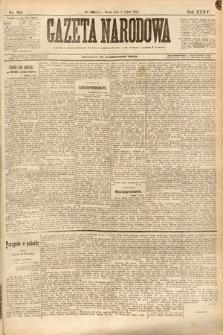 Gazeta Narodowa. 1895, nr182