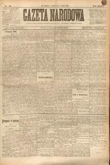 Gazeta Narodowa. 1895, nr184