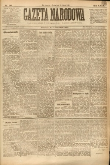 Gazeta Narodowa. 1895, nr196