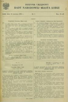 Dziennik Urzędowy Rady Narodowej M. Łodzi. 1976, nr 5 (24 czerwca)