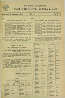 Dziennik Urzędowy Rady Narodowej M. Łodzi. 1976, nr 8 (20 listopada)