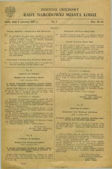 Dziennik Urzędowy Rady Narodowej M. Łodzi. 1977, nr 4 (3 czerwca)