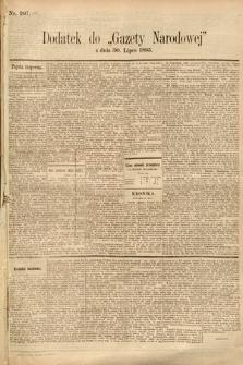 Gazeta Narodowa. 1895, nr207