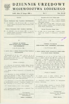 Dziennik Urzędowy Województwa Łódzkiego. 1988, nr 3 (17 lutego)