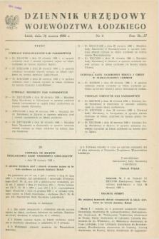 Dziennik Urzędowy Województwa Łódzkiego. 1988, nr 4 (31 marca)