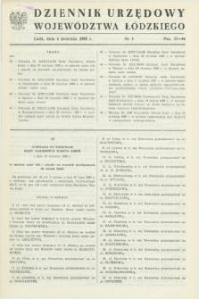 Dziennik Urzędowy Województwa Łódzkiego. 1988, nr 5 (6 kwietnia)