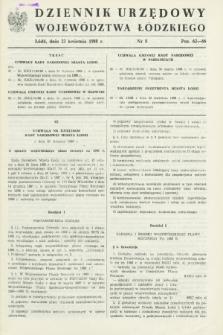 Dziennik Urzędowy Województwa Łódzkiego. 1988, nr 8 (23 kwietnia)