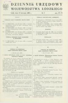 Dziennik Urzędowy Województwa Łódzkiego. 1988, nr 9 (27 kwietnia)