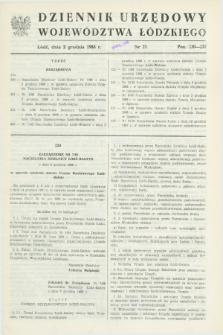Dziennik Urzędowy Województwa Łódzkiego. 1988, nr 23 (3 grudnia)