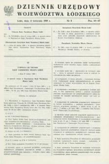 Dziennik Urzędowy Województwa Łódzkiego. 1989, nr 8 (15 kwietnia)