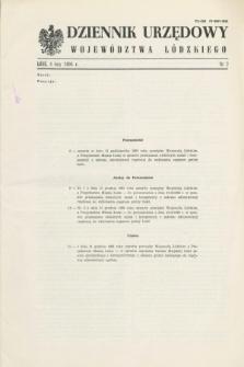 Dziennik Urzędowy Województwa Łódzkiego. 1994, nr 2 (4 lutego)
