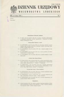 Dziennik Urzędowy Województwa Łódzkiego. 1994, nr 3 (28 lutego)