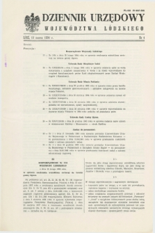 Dziennik Urzędowy Województwa Łódzkiego. 1994, nr 4 (18 marca)