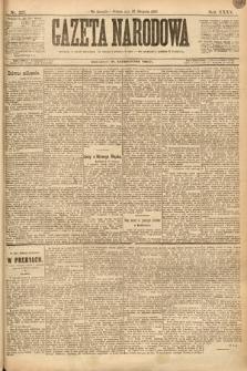 Gazeta Narodowa. 1895, nr227