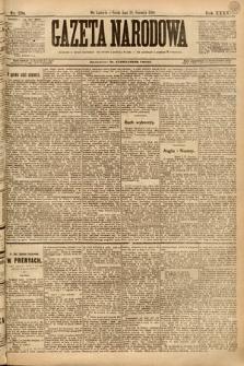 Gazeta Narodowa. 1895, nr238
