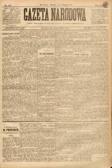 Gazeta Narodowa. 1895, nr242
