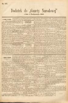 Gazeta Narodowa. 1895, nr271