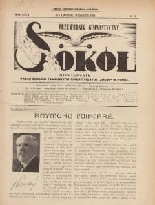 """Przewodnik Gimnastyczny """"Sokół"""" : organ Związku Towarzystw Gimnastycznych """"Sokół"""" w Polsce. R.47 (1930), nr9"""