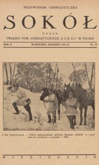 """Przewodnik Gimnastyczny """"Sokół"""" : organ Związku Tow. Gimnastycznych """"Sokół"""" w Polsce. R.51 (1934), nr12"""