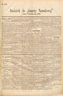 Gazeta Narodowa. 1895, nr278