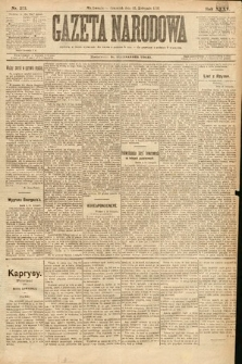 Gazeta Narodowa. 1895, nr323
