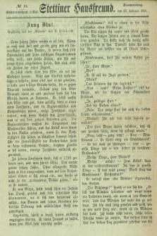 Stettiner Hausfreund. 1866, № 15 (22 Februar)