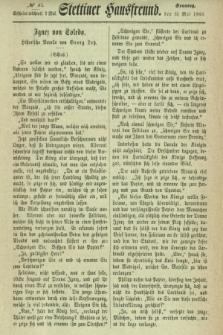 Stettiner Hausfreund. 1866, № 37 (13 Mai)