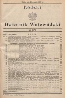 Łódzki Dziennik Wojewódzki. 1932, nr24