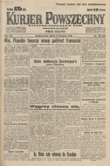 Kurjer Powszechny. 1934, nr309
