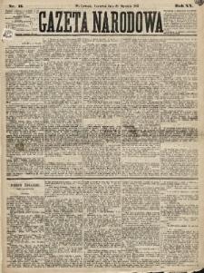 Gazeta Narodowa. 1881, nr15