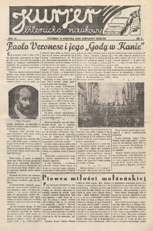 Kurjer Literacko-Naukowy. 1934, nr5
