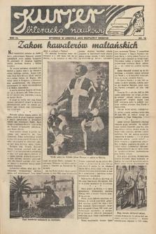 Kurjer Literacko-Naukowy. 1934, nr13