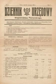 Dziennik Urzędowy Województwa Pomorskiego. 1925, nr2