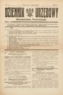 Dziennik Urzędowy Województwa Pomorskiego. 1925, nr3