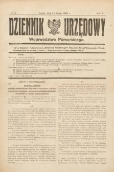 Dziennik Urzędowy Województwa Pomorskiego. 1925, nr4