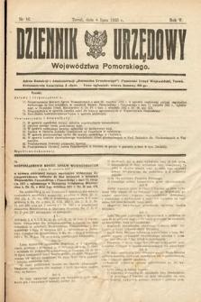 Dziennik Urzędowy Województwa Pomorskiego. 1925, nr16