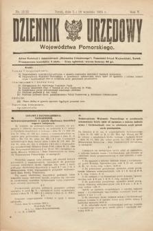 Dziennik Urzędowy Województwa Pomorskiego. 1925, nr21/22