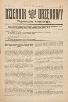 Dziennik Urzędowy Województwa Pomorskiego. 1925, nr23