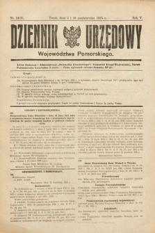 Dziennik Urzędowy Województwa Pomorskiego. 1925, nr24/25