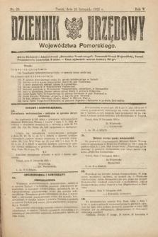 Dziennik Urzędowy Województwa Pomorskiego. 1925, nr28