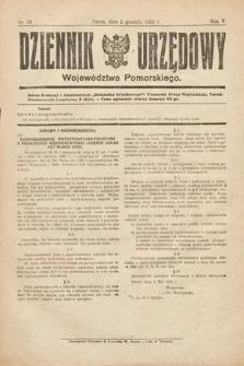 Dziennik Urzędowy Województwa Pomorskiego. 1925, nr29
