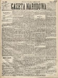 Gazeta Narodowa. 1881, nr223