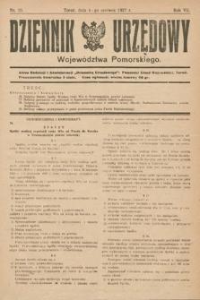 Dziennik Urzędowy Województwa Pomorskiego. 1927, nr19