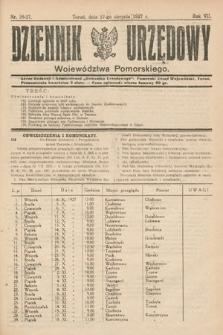Dziennik Urzędowy Województwa Pomorskiego. 1927, nr26-27