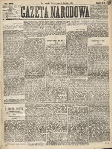 Gazeta Narodowa. 1881, nr297