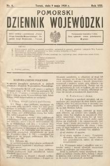 Pomorski Dziennik Wojewódzki. 1928, nr8