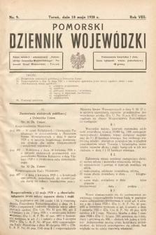 Pomorski Dziennik Wojewódzki. 1928, nr9