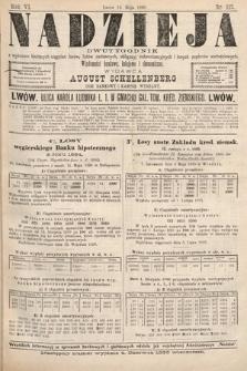 Nadzieja : dwutygodnik zwykazem bieżących ciągnień losów, listów zastawnych, obligacyj indemnizacyjnych innych papierów wartościowych : wiadomości bankowe, kolejowe, ekonomiczne. 1890, nr112