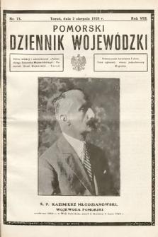 Pomorski Dziennik Wojewódzki. 1928, nr13